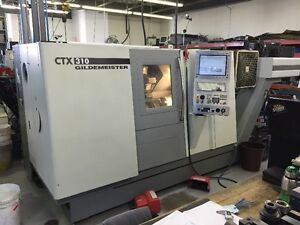2008 CNC Lathe with live tooling / Y-axis and sub spindle