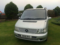 2000 W Mercedes-Benz MPV 6 Seater 2.3 Petrol Automatic Silver 5 Door.