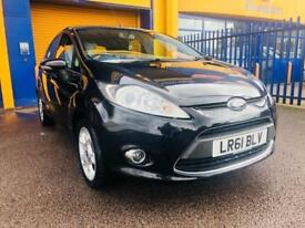 2012 Ford Fiesta 1.4 Zetec Hatchback 5dr Petrol Automatic (154 g/km, 94