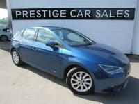 2014 SEAT Leon 1.6 TDI Ecomotive SE (Tech Pack) (s/s) 5dr Diesel blue Manual