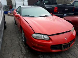 Junking 1998 camaro