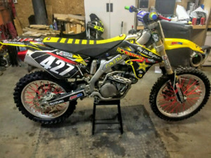 Suzuki Rmz 450 injection