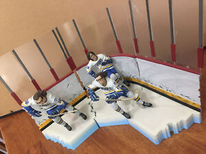 SLAPSHOT movie Hanson brothers action figures McFarlane