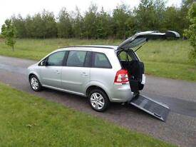 2013 Vauxhall Zafira 1.8 *ONLY 5K* WHEELCHAIR ACCESSIBLE DISABLED ACCESS WAV