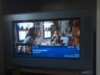 Free sony wega HD 32 inch wide screen crt TV