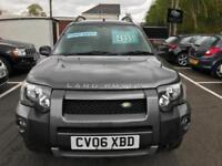 2006 (06) Land Rover Freelander 2.0Td4 Sport ** Only 76,000 Miles ** F/S/H **