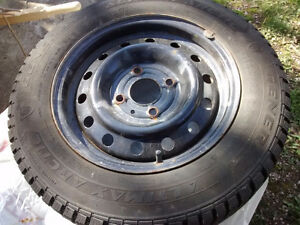 "14"" Snow tires, very lightly used"