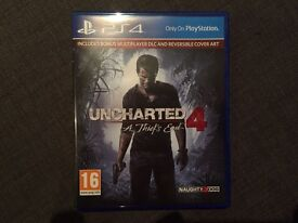 Uncharted 4 PS4 (incl bonus multiplayer DLC)