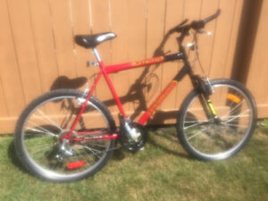 Triumph mountain bike w/ front shocks