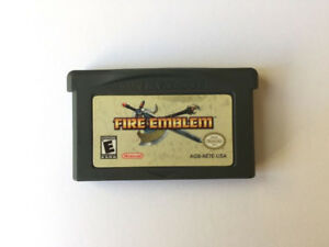 AUTHENTIC Fire Emblem Gameboy Advance GBA - NICE FUN