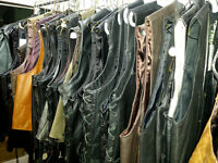Leather Motorcycle Vests - Assorted sizes *SALE* 33% OFF Moncton New Brunswick Preview