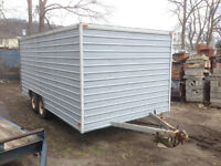 Trailer - Steel Sided - Wooden Interior - Reduced Price!