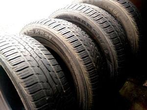 4 pneus d'été MARSHAL  195/70R14