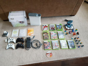 Xbox 360 package - 20GB + games - $150