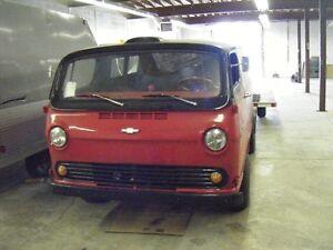66 chevy van chopped