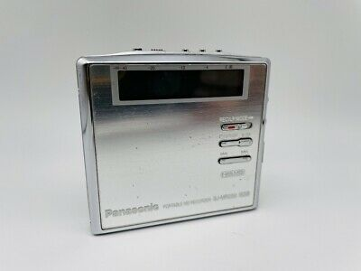 MD1970 working  Panasonic PORTABLE MD RECORDER SJ-MR250  Silver