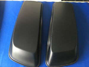 Harley-Davidson Touring Saddlebag Lids (Flat Black)