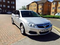 VAUXHALL VECTRA 1.9 CDTI 150 EXCLUSIVE MODEL, 56 PLATE, FULL S/H & 12 MONTHS MOT.