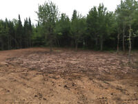 Land clearing, excavation and trucking