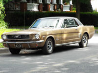 Ford Mustang 1966 V8 Automatique négo