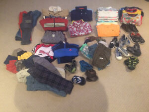 Boy Clothes: 3-4 yr old lot (90 items)