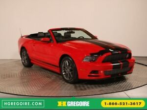 2014 Ford Mustang V6 PREMIUM CONVERTIBLE EDITION CLUB OF AMERICA