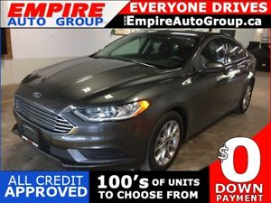 2017 FORD FUSION SE * BACKUP CAMERA * BLUETOOTH * LOW KM