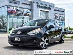 2013 Kia Rio SX GDI, Camera, Roof, Snows, Only 138,900 KMS