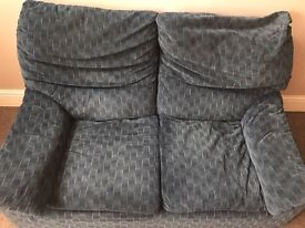 Good condition pair of two seater sofas - smoke free home
