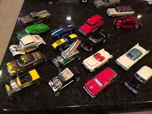Lot of 17 Hot Rod 1:64 diecast