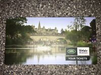2 Tickets to Burghley horse trials any day