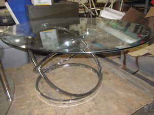 2 glass coffee tables - 6169