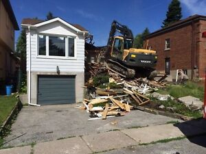 Demolition Excavation Bobcat Excavator Services