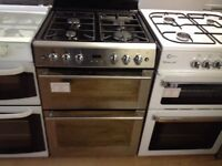 Stainless steel 60cm gas cooker