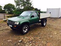 TOYOTA HILUX 4x4 TIPPER PICKUP 1994 M reg 2,4 diesel truck