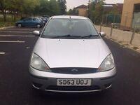 Ford Focus 1.6 2003 5 doors 6 months MOT fair condition drives well