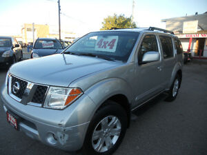 2005 Nissan Pathfinder LE SUV, Crossover 4x4 leather 5995