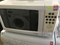LG white Large Microwave Oven, Talking Machine
