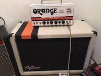 Orange dual terror amp head