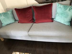 KARLSTAD Sofa,light gray