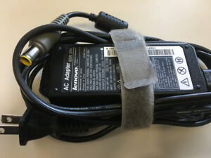 Lenovo Orignial Power  AC Adapter 65W 20V for Lenovo Laptops