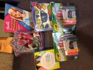 Lot of 6  new never used  activities for children aged 5 and up