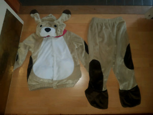 Size 2t-3t gymboree puppy Halloween costume