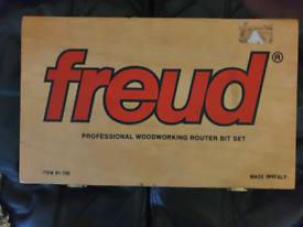 Freud Professional Router Bit Set