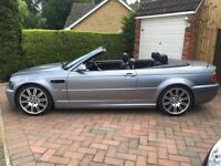BMW M3 E46 Convertible in grey