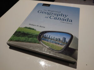 The Regional Geography of Canada (5th Fifth Edition) Hardcover