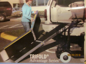 EZ-Access Trifold Ramp for wheelchairs - 8 ft