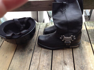 Men's Harley Davidson motorcycle boots