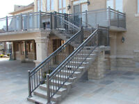 Aluminum Railings, Glass Railings, Fences, Gates, Columns