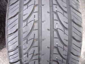 4 pneux ete neuf